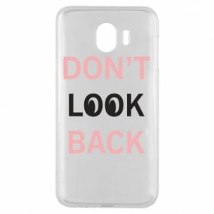 Etui na Samsung J4 Don't look back