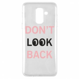 Etui na Samsung A6+ 2018 Don't look back