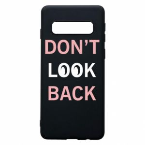 Etui na Samsung S10 Don't look back