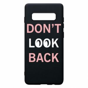 Etui na Samsung S10+ Don't look back