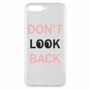 Etui na Huawei Y6 2018 Don't look back