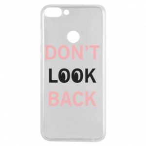 Etui na Huawei P Smart Don't look back