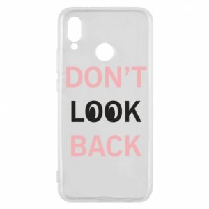 Etui na Huawei P20 Lite Don't look back