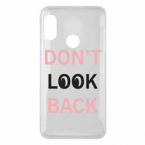 Etui na Mi A2 Lite Don't look back