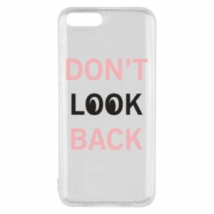 Etui na Xiaomi Mi6 Don't look back