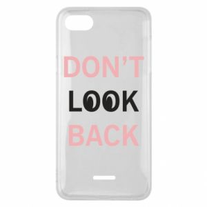 Etui na Xiaomi Redmi 6A Don't look back