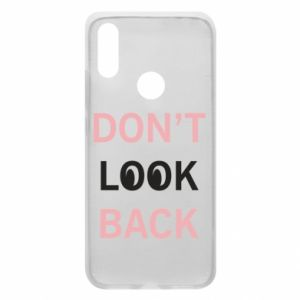 Etui na Xiaomi Redmi 7 Don't look back