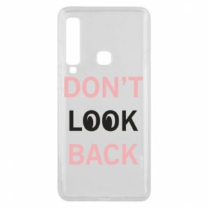 Etui na Samsung A9 2018 Don't look back