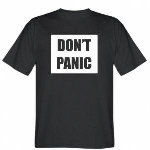 Koszulka Don't panic