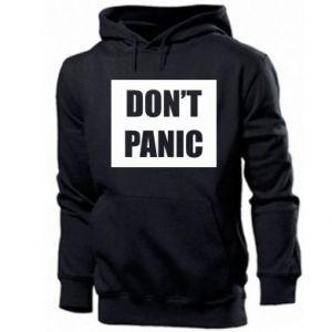Męska bluza z kapturem Don't panic