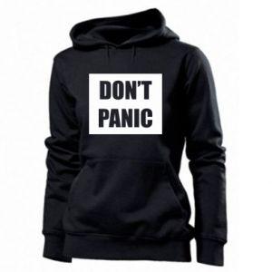 Damska bluza Don't panic