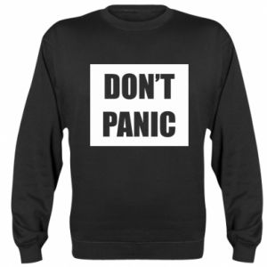 Bluza (raglan) Don't panic