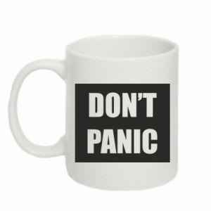 Kubek 330ml Don't panic