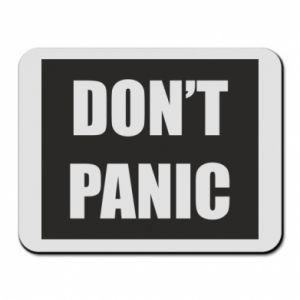 Podkładka pod mysz Don't panic