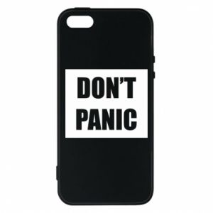Etui na iPhone 5/5S/SE Don't panic