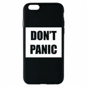 Etui na iPhone 6/6S Don't panic