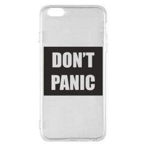 Etui na iPhone 6 Plus/6S Plus Don't panic