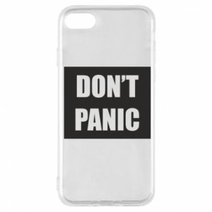 Etui na iPhone 7 Don't panic
