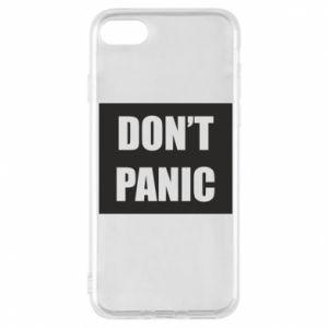 Etui na iPhone 8 Don't panic
