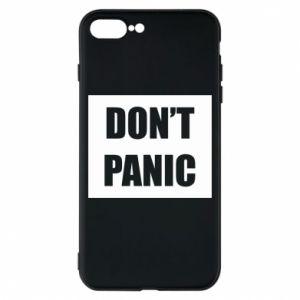 Etui na iPhone 8 Plus Don't panic