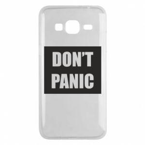 Etui na Samsung J3 2016 Don't panic