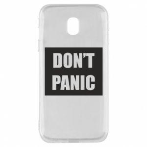 Etui na Samsung J3 2017 Don't panic