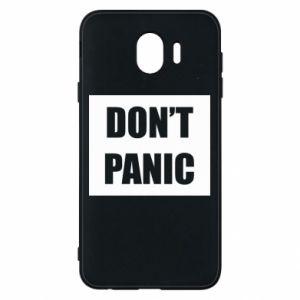 Etui na Samsung J4 Don't panic
