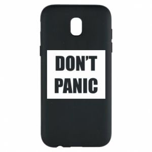Etui na Samsung J5 2017 Don't panic