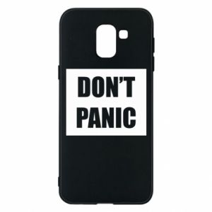 Etui na Samsung J6 Don't panic
