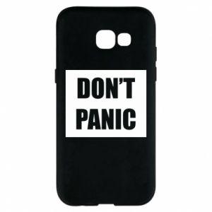 Etui na Samsung A5 2017 Don't panic