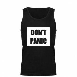 Męska koszulka Don't panic