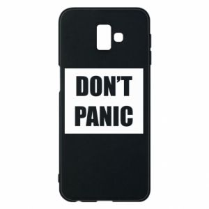 Etui na Samsung J6 Plus 2018 Don't panic
