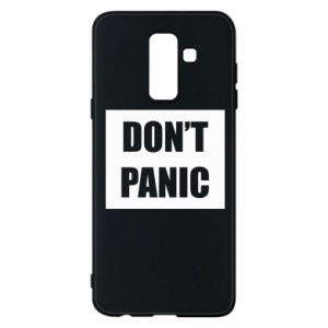 Etui na Samsung A6+ 2018 Don't panic