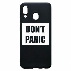 Etui na Samsung A20 Don't panic