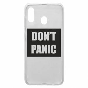 Etui na Samsung A30 Don't panic