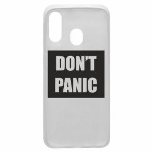 Etui na Samsung A40 Don't panic