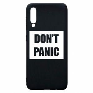 Etui na Samsung A70 Don't panic