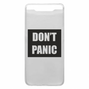 Etui na Samsung A80 Don't panic