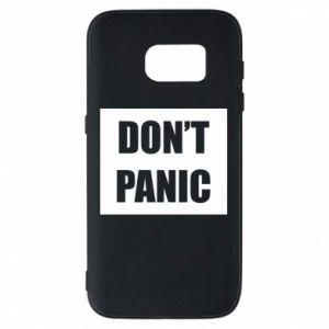 Etui na Samsung S7 Don't panic