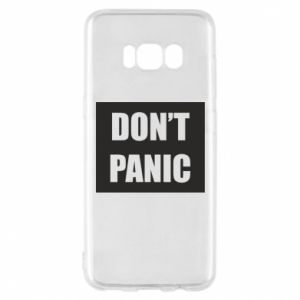 Etui na Samsung S8 Don't panic