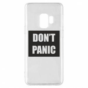 Etui na Samsung S9 Don't panic