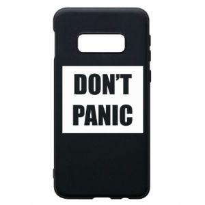 Etui na Samsung S10e Don't panic