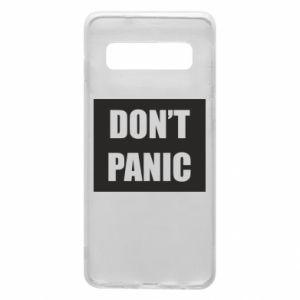 Etui na Samsung S10 Don't panic