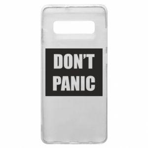 Etui na Samsung S10+ Don't panic