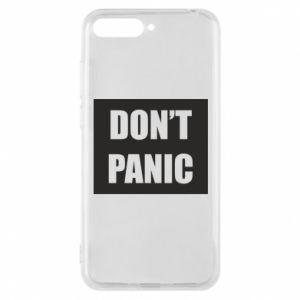 Etui na Huawei Y6 2018 Don't panic