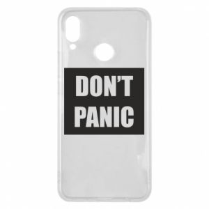 Etui na Huawei P Smart Plus Don't panic