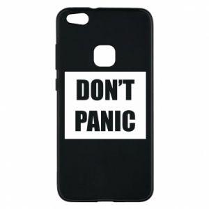 Etui na Huawei P10 Lite Don't panic