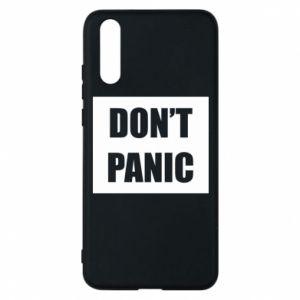 Etui na Huawei P20 Don't panic