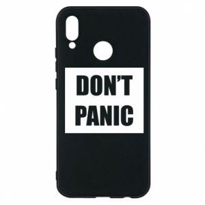 Etui na Huawei P20 Lite Don't panic