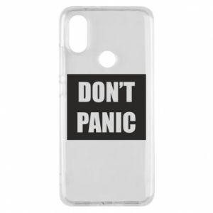 Etui na Xiaomi Mi A2 Don't panic